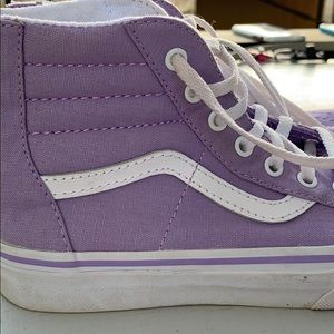 Vans Shoes - Girls lavender sk8-hi's